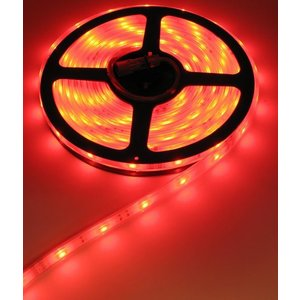 24V RGB Led Strip 30Led 5mtr IP68 (Volledig waterdicht) Oranje