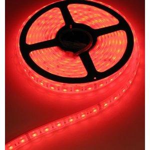 24V RGB LED Strip 60Led 5mtr IP68 (Volledig waterdicht)