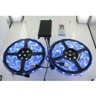 10M RGB LED Strip 30/leds IP67 Waterproof inclusief Transformator en Afstandsbediening -