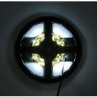 2m LED Strip 60 Led Koud Wit Compleet