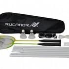 Rucanor Badmintonset met net Match 250