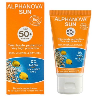 Alphanova SUN Bio Crème SPF50+ 50g