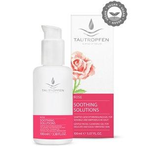 Tautropfen Rose Gentle Facial Cleansing Gel 100ml