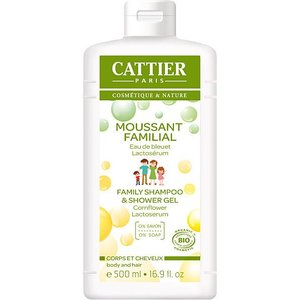 Cattier Schuimende Douchegel & Shampoo 500ml