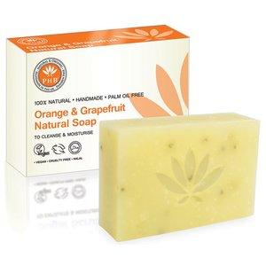 PHB Ethical Beauty Orange & Grapefruit Natural Soap 100g
