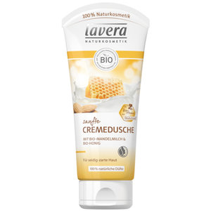 Lavera Silky Shower Cream with Almond Milk & Honey 200ml