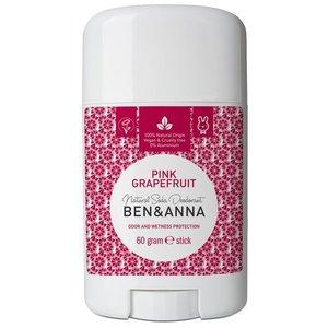 BEN&ANNA Deodorant Stick Pink Grapefruit 60g