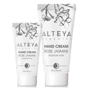 Alteya Organics Organic Hand Cream Rose Jasmine 30ml of 90ml