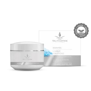 Tautropfen Invigorating Sea Salt Body Peel for All Skin Types 150ml