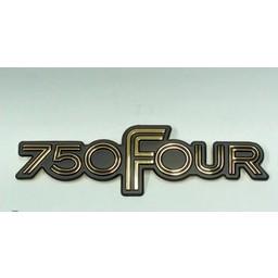 """CB750F Zijkap Emblem """" 750 FOUR"""""""""""""""""""""""""""""""