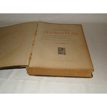 Andrees Handatlas van 1921 7e Oplage