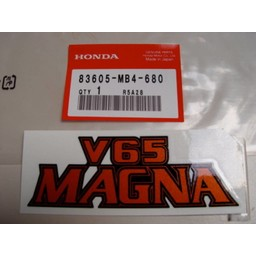 VF1100C Magna Sidecover mærkat Honda V65