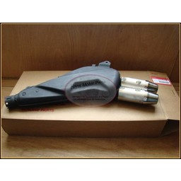 XL650V TransAlp Exhaust Silencer/Muffler New OEM part HONDA