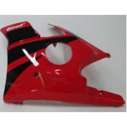 CBR600F Verkleidung 'Äã'ÄãLINKS Rot/Schwarz
