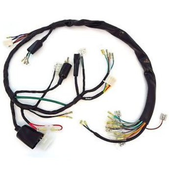 cb350 four wiring harness hans motor parts motorcycle parts rh hansmotorparts com 1970 cb350 wiring harness cb350 wiring harness routing