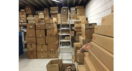 Sale of Party stock parts