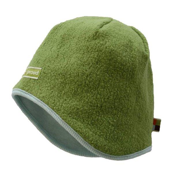 Mütze 730 - Moos - Teddy