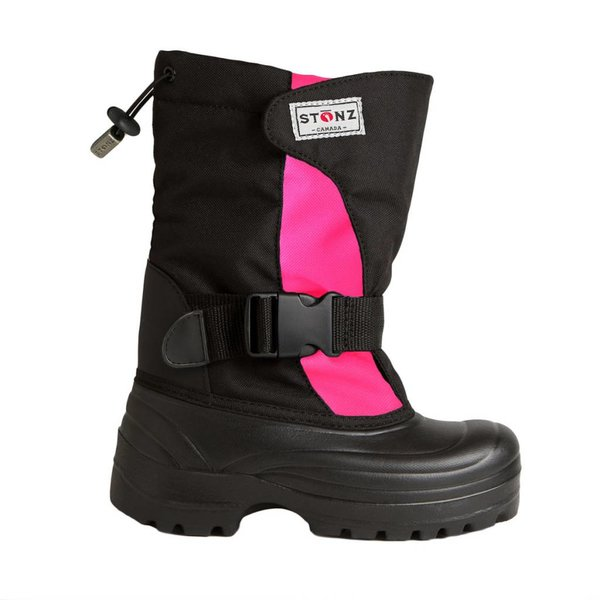 Winter Bootz Pink/Schwarz