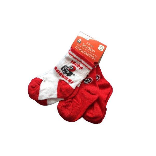 """Socken 3er Pack """"Hopp Schwiiz"""""""