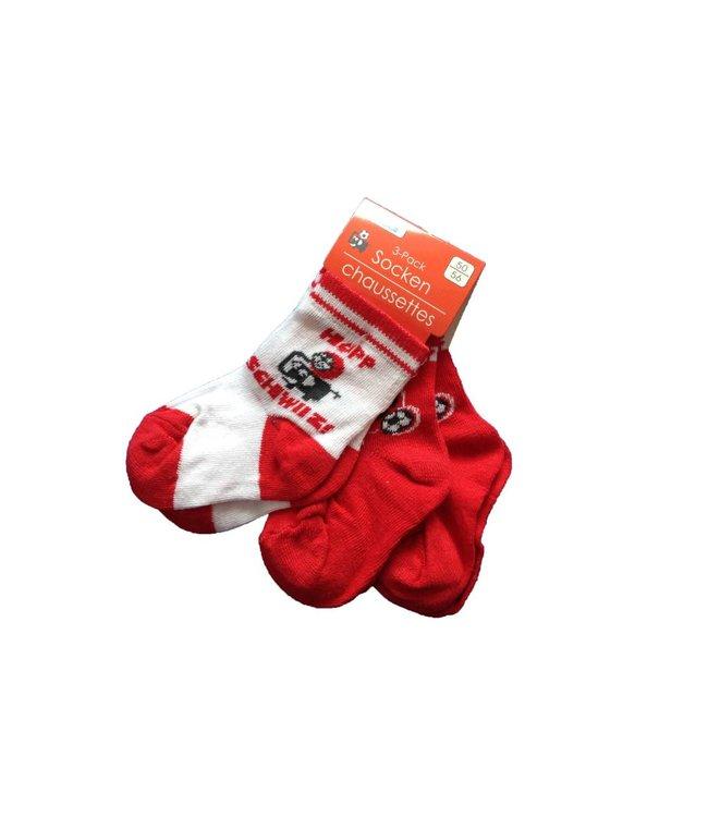 """Bisal Socken 3er Pack """"Hopp Schwiiz"""""""