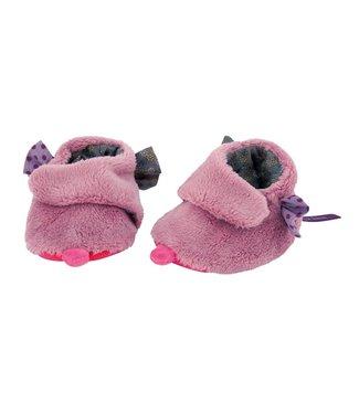 Moulin Roty Babyschühchen violett
