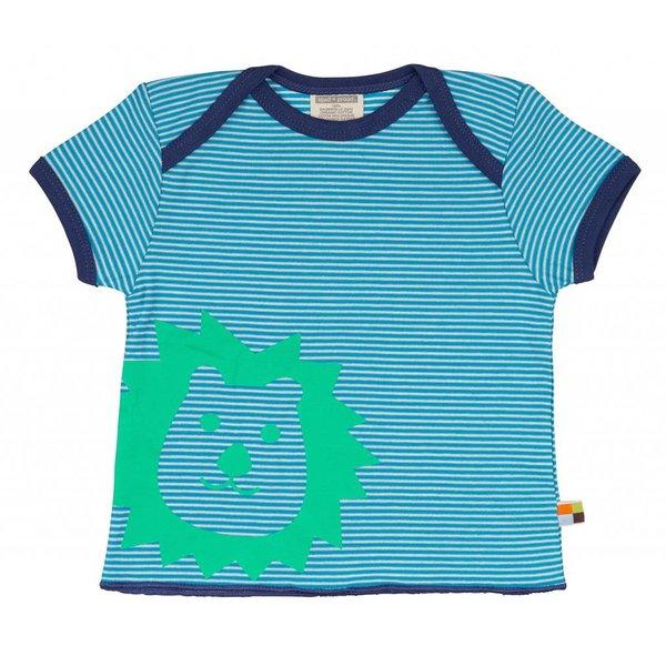 T-Shirt Ringel aqua