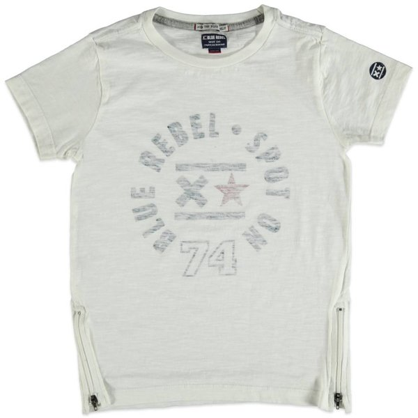 Jungen T-Shirt optical white