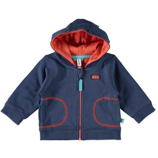 Baby Boys Sweat Jacke royal