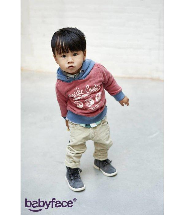 Babyface Jungen Cord Hose sand
