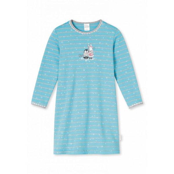 Mädchen Nachthemd türkis