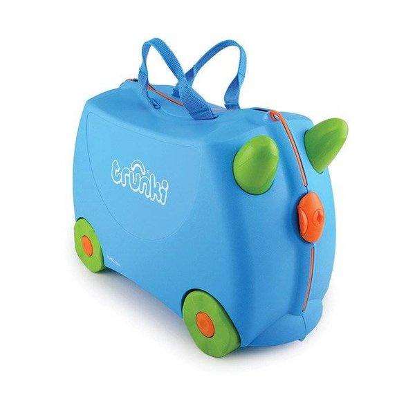 Kinderkoffer Terrance blau