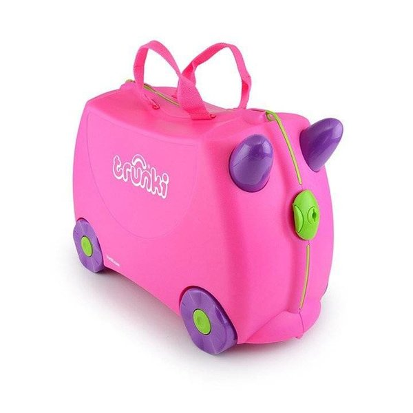 Kinderkoffer Trixie rosenrot
