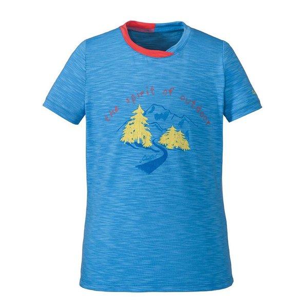 Kinder T-Shirt Malcesine blau