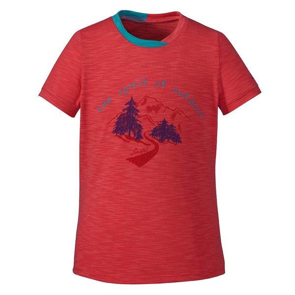 Kinder T-Shirt Malcesine coral