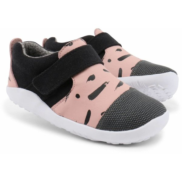 Kinderschuh I-Walk City Sliper blush/black