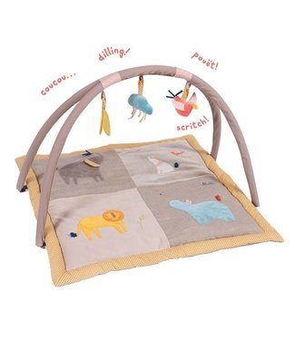 Moulin Roty Spieldecke mit Baby-Gym