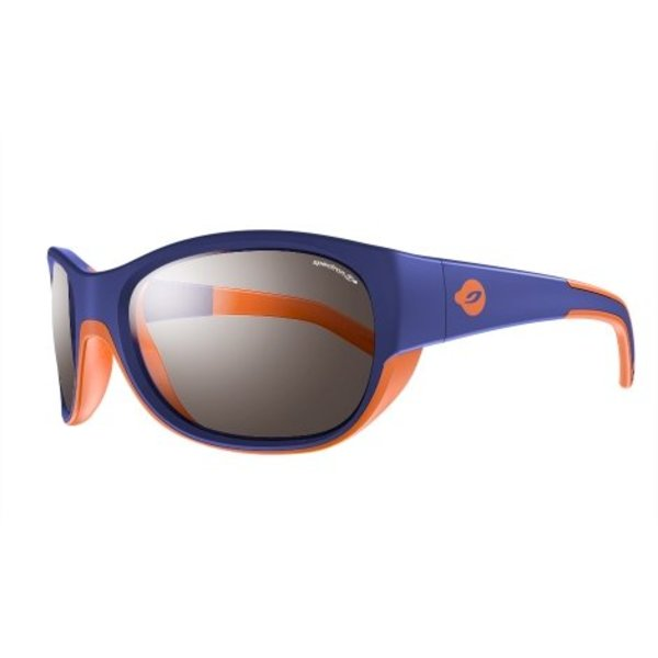 Kindersonnenbrille Luky bleu/orange