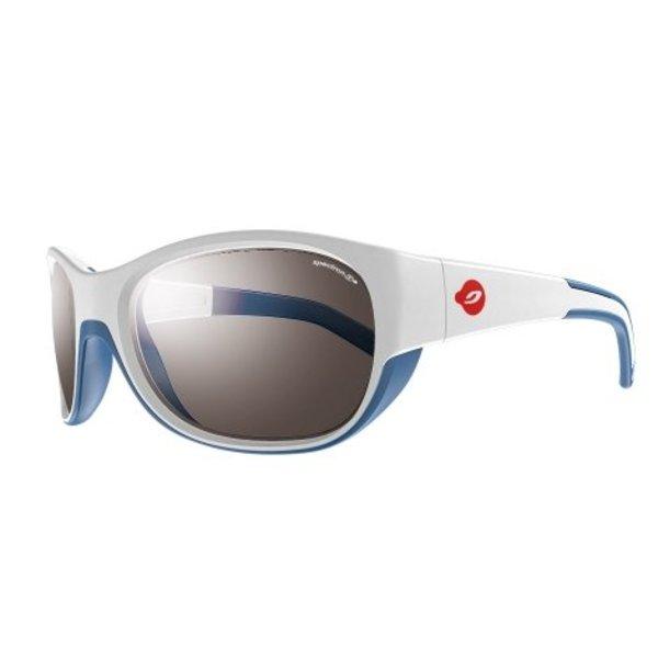 Kindersonnenbrille Luky weiss/blau