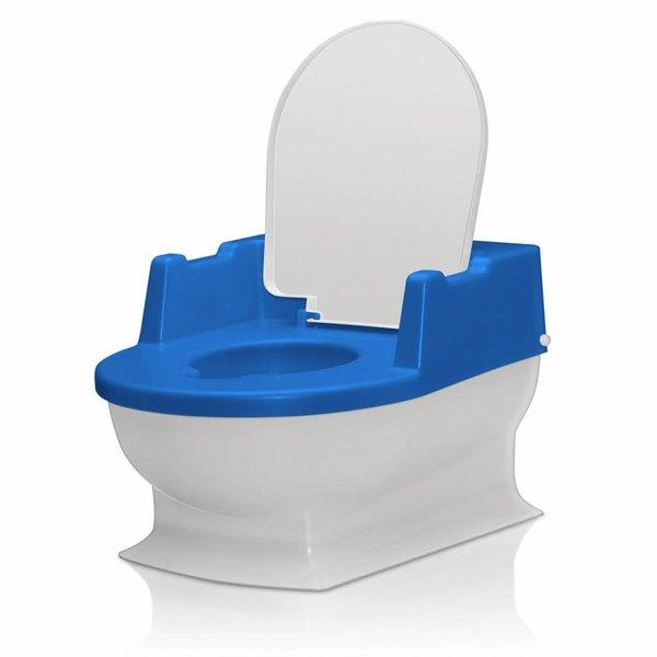 Sitzfritz - Die Mini-Toilette zum Großwerden weiss / blau