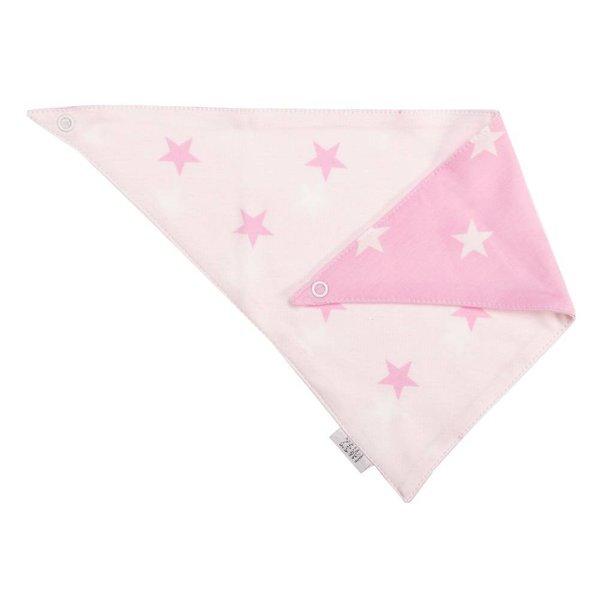 Halstuch rose Stars
