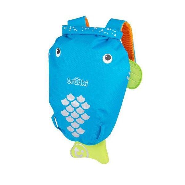 wasserfester Rucksack Bob der Blaue Fisch