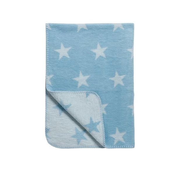 Schlafdecke Sterne blau