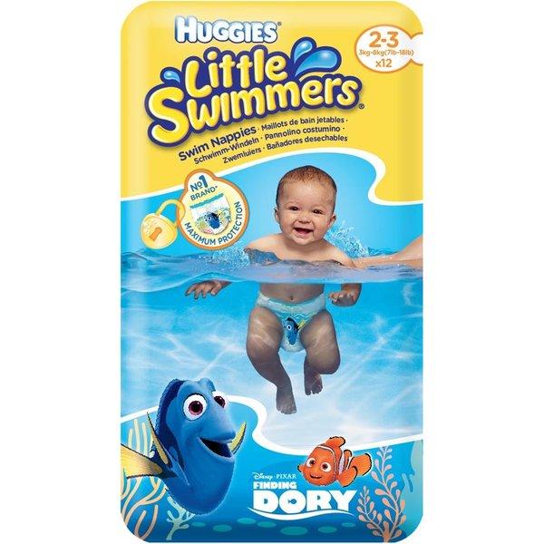 Schwimmwindeln Gr. 2-3 / 3 - 8 kg