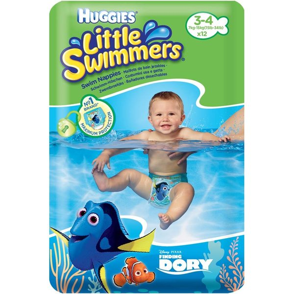 Schwimmwindeln Gr. 3-4 / 7 - 15 kg