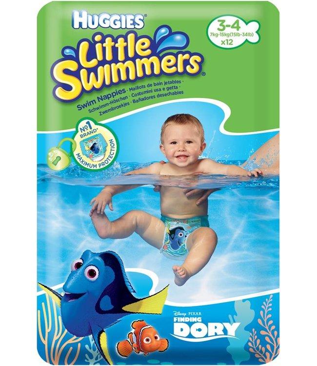 Huggies Schwimmwindeln Gr. 3-4 / 7 - 15 kg
