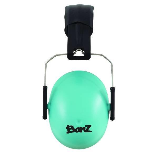 Banz KINDER Gehörschutz Kopfhörer 2-10 Jahre Türkis