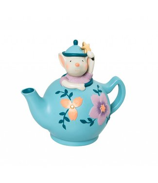 Moulin Roty Spardose Teekanne mit Maus