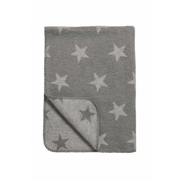 Schlafdecke Sterne grau