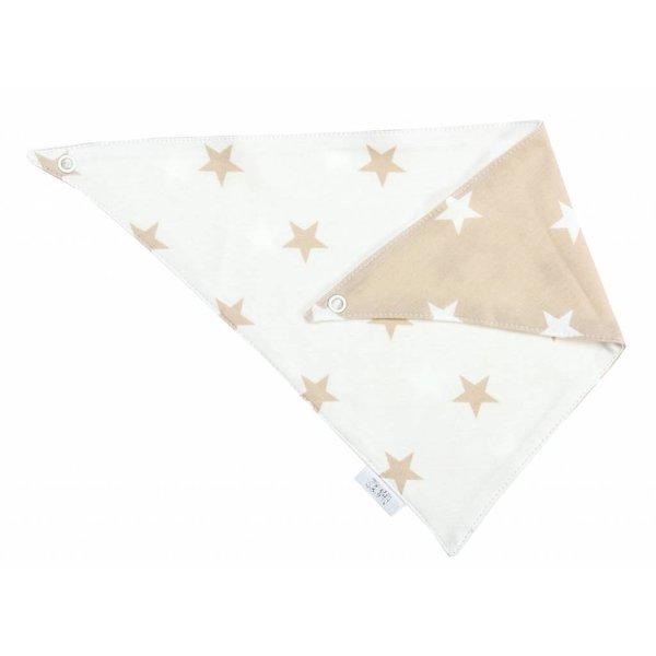 Halstuch beige Stars