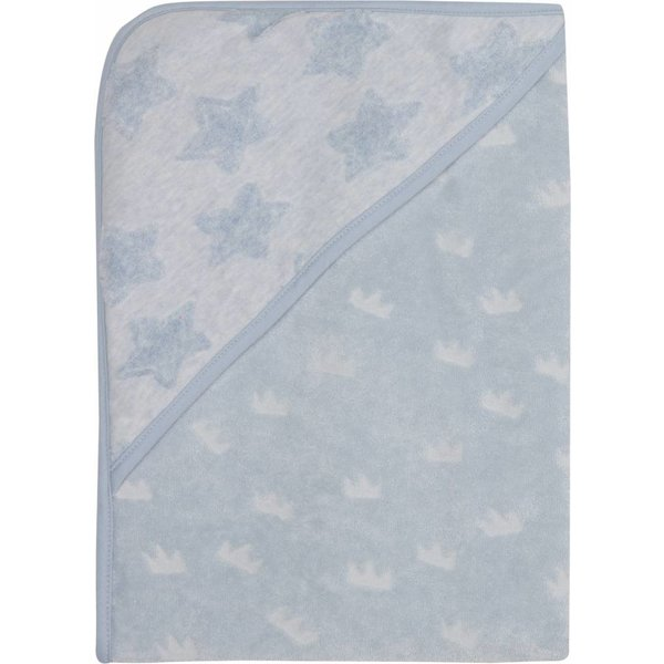 Badetuch mit Kapuze frosted blue